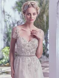 elegant whimsical vintage wedding dress love maggie love maggie