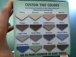 rustoleum paint color options