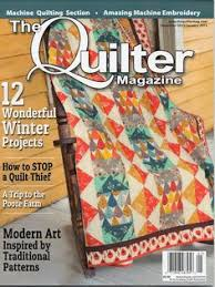New quilt magazine! Quilt-it...today (from Quilt-it...today.com ... & The Poore Farm Museum News : Poore Farm Featured in The Quilter Magazine,  2013/ Adamdwight.com