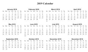 Free Mini Calendar 2019 Major Magdalene Project Org
