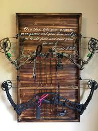 diy archery decor custom bow racks with arrow holder check us out at country boy on