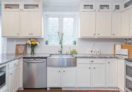 how to utilize glass front cabinets in