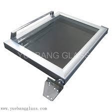 kitchen freezer glass door