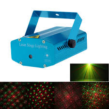 mini red green led laser projector stage lighting
