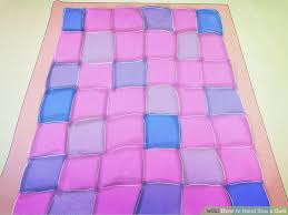 3 Ways to Hand Sew a Quilt - wikiHow & Image titled Hand Sew a Quilt Step 23 Adamdwight.com