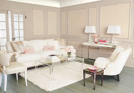neutral living room with wall accents
