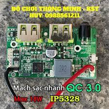 Ớ Mạch sạc dự phòng sạc nhanh QC3.0 PD3.0 18W - I bán 76,452đ