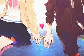 anime love holding hands. Perfect Holding Love Anime And Couple Image Intended Anime Love Holding Hands