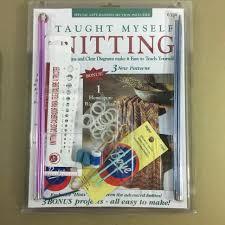 Boye 6398 I Taught Myself Knitting Book Needles Kit