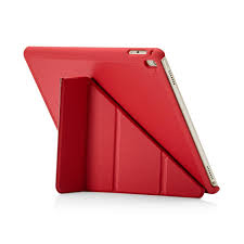 pipetto ipad air 2 case red origami luxe back exterior