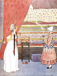 princess and the pea illustration. Brilliant Pea Princess And The Pea By Margaret Tarrant For And The Illustration