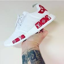 louis vuitton x adidas nmd. adidas nmd x @louisvuitton @supremenewyork custom. #hypedstreets \u003cspan class\u003d louis vuitton nmd