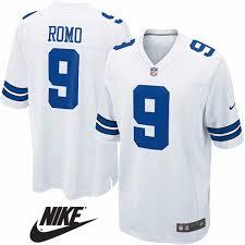 Futbol Dallas Americano Talle Romo S Camiseta 9 Nfl Cowboys