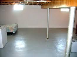 painting a cement basement floor basement floor paint concrete
