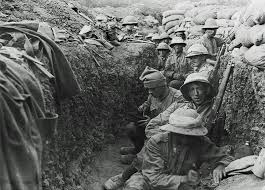 fighting in the trenches was wet and slippery waterproof coats helped to combat some of these elements wikimedia commons australian war memorial