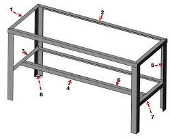 metal workshop plans. metal workshop bench plans