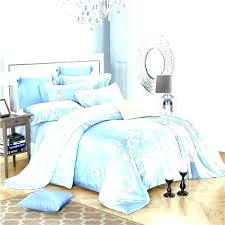 baby blue duvet cover light blue bed set light blue bedding linen bed sheets set twin