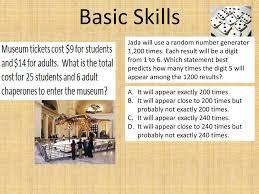 Basic Skills Jada Will Use A Random Number Generator 1 200
