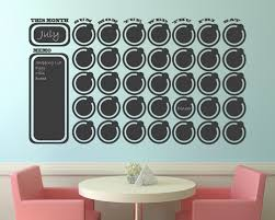 dots circular shaped calendar wall decal large huge tremendous sizes background covering monograms colouring