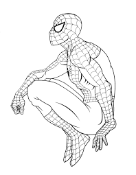 Spiderman Gratuit 4 Coloriage Spiderman Coloriages Pour Enfants