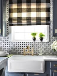 Kitchen Window Covering Large Kitchen Window Treatments Hgtv Pictures Ideas Hgtv