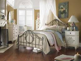 Batic Motive Wall Frames Decoration Arch Lamp French Country Bedroom  Furniture Nice Comfort Bed Floral Toss Pillows Wood Bench Curtain Ideas