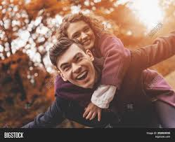 Happy Young Couple On Image & Photo (Free Trial)   Bigstock