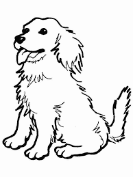 Cute Dog Coloring Pages Printable At Getcoloringscom Free