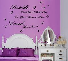 >twinkle twinkle little star quote wall art kids baby nursery sticker  image is loading twinkle twinkle little star quote wall art kids
