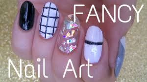 FANCY Nail Art Tutorial - YouTube