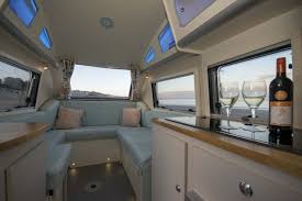 Used barefoot caravan for sale Camper Trailer The Surprisingly Spacious Interior Has Windows All The Way Around Wikipedia Camper Trailer Combines Retro Style With Modern Amenities Curbed