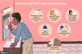 how to get rid of canker sores salt