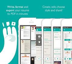 App Resume App For Resume Awesome Resume Maker Resume Template Ideas