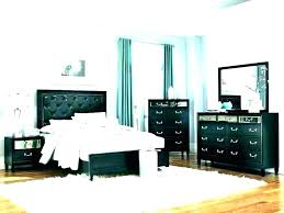 White Lacquer Bedroom Furniture Black Set Modern High And Asian Furn ...