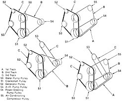 Belt diagram for a 454 chevy motor at service manual