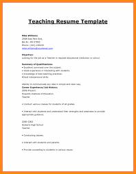 How To Write Resume For Teaching Job Make Cv Format Jobs Sample A