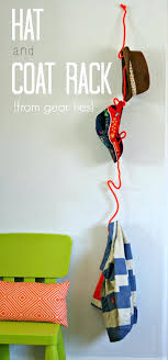 Twist Coat Rack Twist Coat Rack Made From The Unexpected Simple Hat And Tie Downs 66