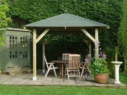 tourist garden gazebos wooden