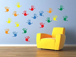 vinyl concept children s wall stickers nursery handprints wall kids removable easy to on is vinyl wall art easy to remove with vinyl concept children s wall stickers nursery handprints wall