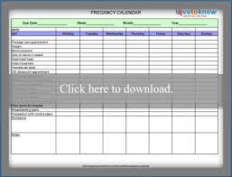 Pregnancy Callendar Free Printable Weekly Pregnancy Calendar Lovetoknow