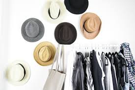 Place your hats on the hooks and you instantly have a piece of art that  brings major style to your space!