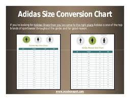 Shoe Brand Size Comparison Chart Shop Your Favorite Shoes With The Help Of Shoe Size