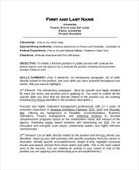 Work Resume Example Extraordinary 28 Work Resume Templates PDF DOC Free Premium Templates