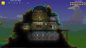 How To Make A Underground House Dye Traders House Terraria Album On Imgur