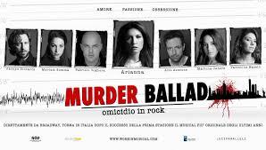 MURDER BALLAD – Omicidio in Rock. Tour nazionale