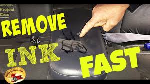 how to remove ink on leather or cloth amazing sweet project cars