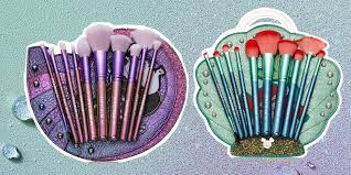 spectrum collections is launching a disney x little mermaid makeup brush collection