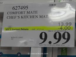 Comfort Mats For Kitchen Floor Cushioned Kitchen Floor Mats Comfort Mate Chefs Kitchen Mat Costco