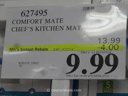 Cushioned Kitchen Floor Mat Cushioned Kitchen Floor Mats Comfort Mate Chefs Kitchen Mat Costco