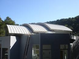 curved corrugated metal roof panels